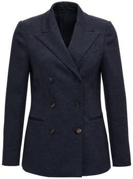 商品Brunello Cucinelli Chain-Embellished Tailored Blazer - IT40 / Navy图片