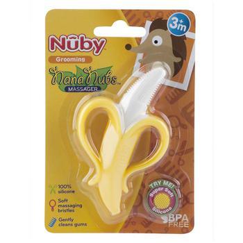 商品Nana Nubs Banana Massaging Toothbrush图片