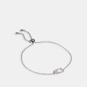 商品COACH Pave Signature Slider Bracelet图片