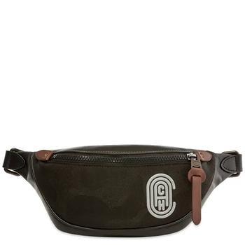 商品Coach Black Retro Rivington Belt Bag图片