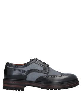 商品男士系带皮鞋图片