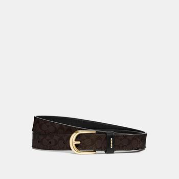 商品COACH Classic Belt In Signature Canvas图片