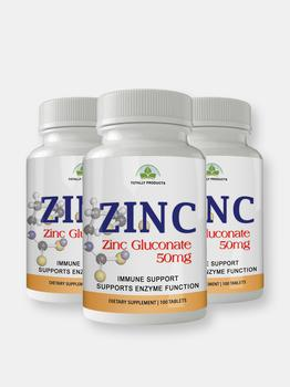 商品Totally Products ZINC 50mg Immunity Support  (300 tablets)图片