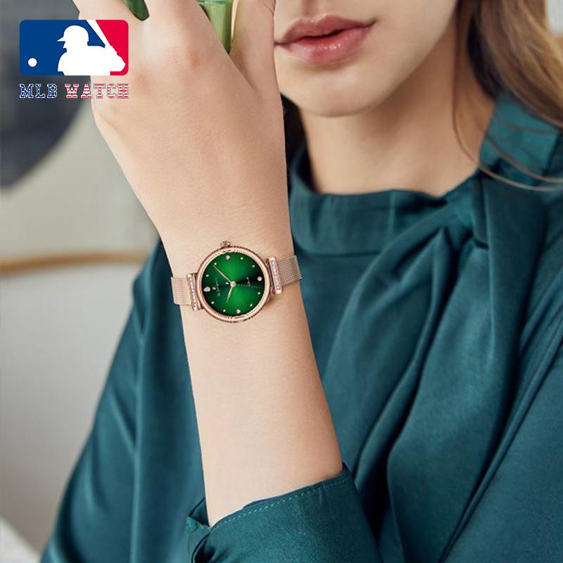 商品MLB美职棒女神系列满天星女士石英手表SD106图片