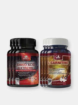 商品Amino Acid Extreme and L-Carnitine Extra Strength Combo Pack图片