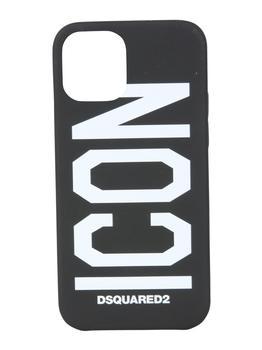 商品Dsquared2 Icon Printed iPhone 12 Pro Case - Only One Size / Black图片