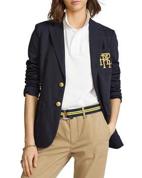 商品女式 拉夫劳伦 Blazer系列 针织 单排扣 西装外套图片