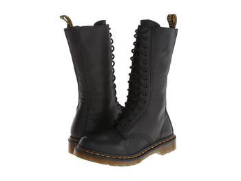商品马丁靴女款14孔女士拉链靴 1B99图片