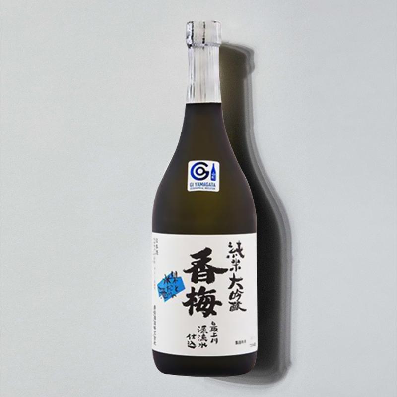 商品【国内直发】米嗅香梅山田锦纯米大吟酿清酒原装进口米酒日式发酵洋酒图片