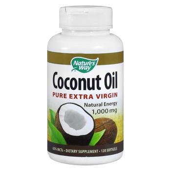 商品Coconut Oil Pure Extra Virgin 1,000mg, Softgels图片
