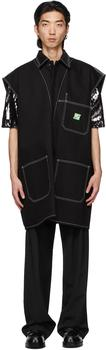 商品Black Denim Oversized Vest图片