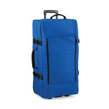 商品Bagbase Escape Dual-Layer Large Cabin Wheelie Travel Bag/Suitcase (25 Gallons) (Sapphire Blue) (One Size)图片