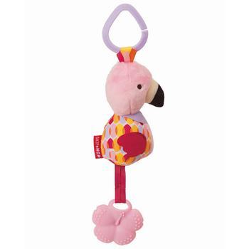 商品Bandana Buddies Chime Teether Toy - Flamingo图片