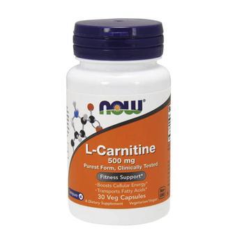 商品Now Foods L-Carnitine Fitness Support 500mg capsules, 30 Ea图片