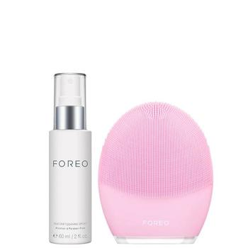 商品FOREO Luna 3 + Silicone Cleaning Spray Bundle图片