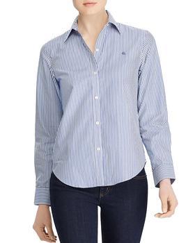 商品Pinstriped No-Iron Shirt图片