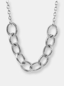 """商品ELYA Polished Large Link Chain Stainless Steel Necklace (23.5 mm) 18""""图片"""