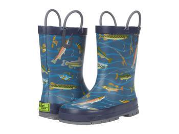 商品Gone Fish'n Rain Boots (Toddler/Little Kid/Big Kid)图片