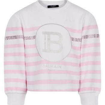 商品BALMAIN KIDS - Sweatshirt, Pink, Girl, 8 yrs图片