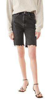 商品AGOLDE 90's Pinch Waist High Rise Straight Leg Shorts图片