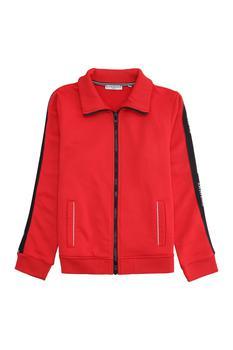 商品Givenchy Kids Logo Tape Zipped Track Jacket - 6Y / Red图片