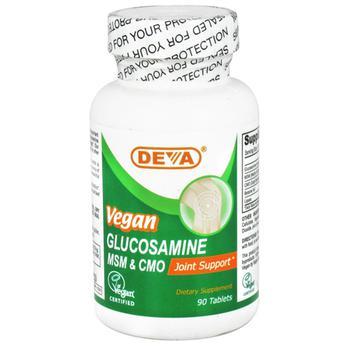商品Deva Nutrition Glucosamine Msm And Cmo Joint Support Tablets, Vegan - 90 Ea图片