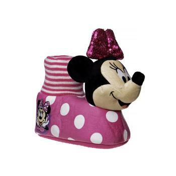 商品Toddler Girls Minnie Mouse Slippers图片