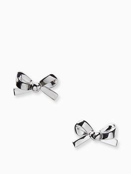 商品skinny mini bow studs图片