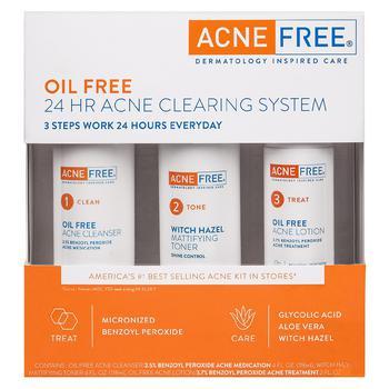 商品3 Step 24 Hour Acne Treatment Kit with Benzoyl Peroxide图片