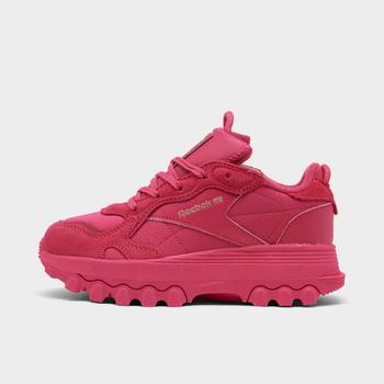 商品Girls' Little Kids' Reebok Cardi B Classic Leather Casual Shoes图片