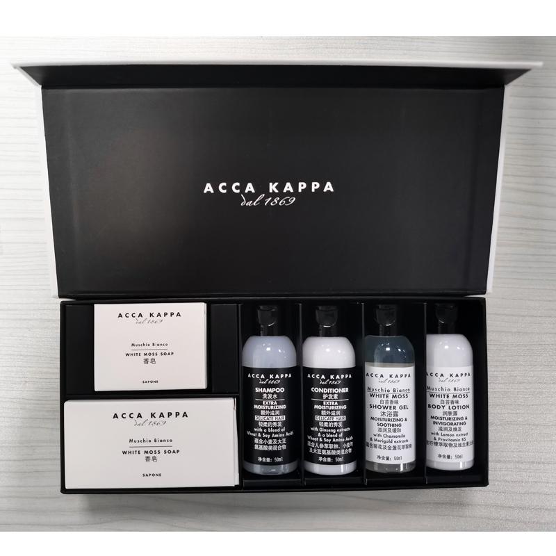商品【国内直发】ACCA KAPPA白苔洗护旅行套装共280g图片