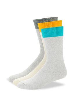 商品3-Pack Multicolored Crew Socks图片