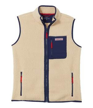 商品Sherpa Vest (Toddler/Little Kids/Big Kids)图片