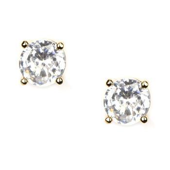商品纪梵希水晶耳钉 Givenchy Earrings, Gold-Tone Crystal Stud Earrings图片