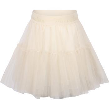 商品MONNALISA - Skirt, White, Girl, 10 yrs图片