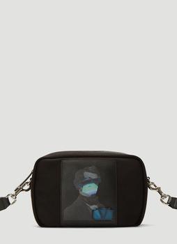 商品Valentino X Undercover Graphic Printed Belt Bag - Only One Size / Black图片