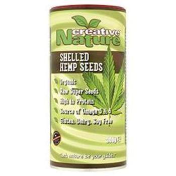 商品Creative Nature Organic Shelled Hemp Seeds 300g图片