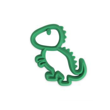 商品Teething Happens Silicone Teether, Dinosaur图片