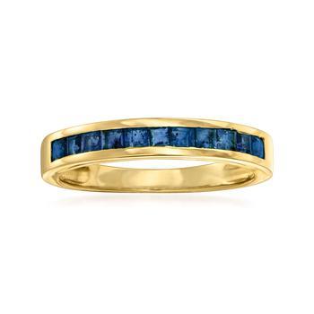 商品Ross-Simons Sapphire Ring in 14kt Yellow Gold图片