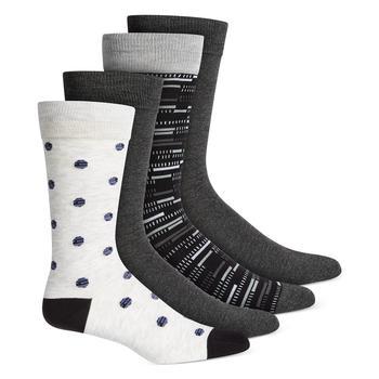 商品Men's 4-Pk. Dress Socks, Created for Macy's图片