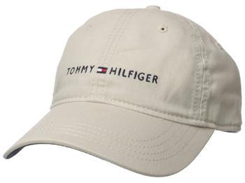 商品Tommy Hilfiger Men's Logo Dad Baseball Cap图片