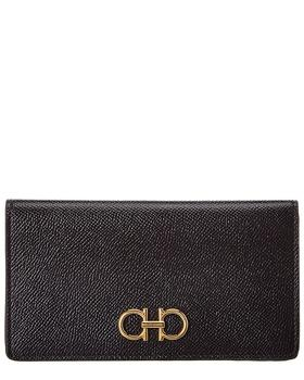 商品Salvatore Ferragamo Gancini Leather Wallet图片