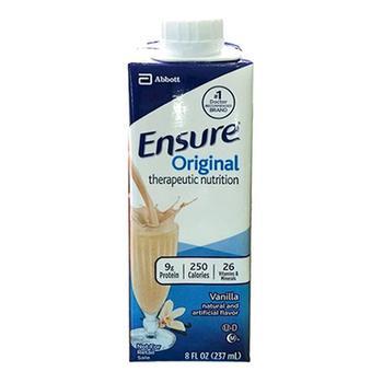 商品Ensure Original Therapeutic Nutrition, Vanilla, 8 Oz, 24 Pack图片