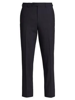 商品COLLECTION Micro Check Wool-Blend Trousers图片