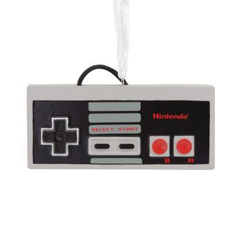 商品Nintendo Entertainment System NES Controller Christmas Ornament图片