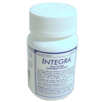 商品Integra Professional 125 Mg Iron Vitamin Supplement Capsules - 30  Ea图片