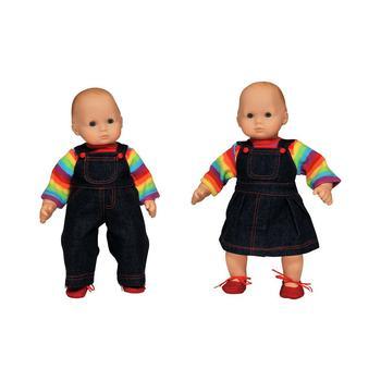 """商品Set of Two 15"""" Doll Clothes for Bitty Twins Rainbow图片"""
