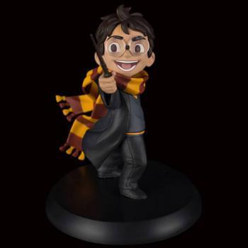 商品Quantum Mechanix Harry Potter Harry's First Spell Q-Fig图片