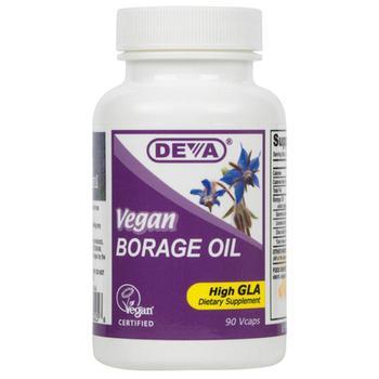 商品Deva Nutrition Vegan Borage Oil High Gla Vegetarian Capsules - 90 Ea图片
