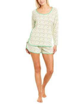 商品Cosabella 2Pc Florida Print Pajama Short Set图片